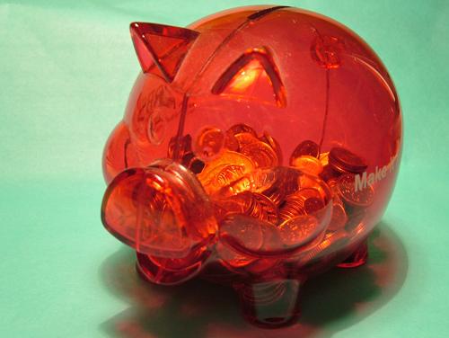 Piggy bank (500)