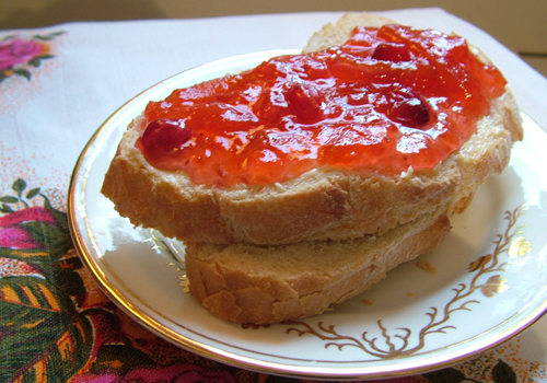 Grapefruit and Cranberry Marmalade (500)