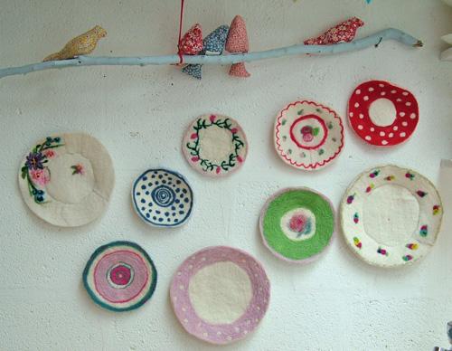 Georgina Bell's Felt Plates (500)