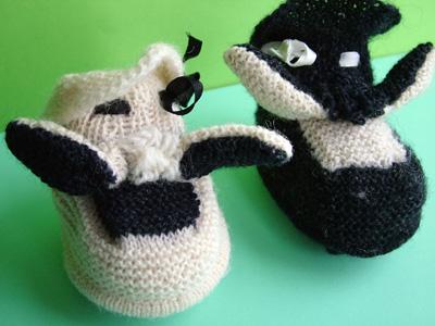 Sheep Bootees